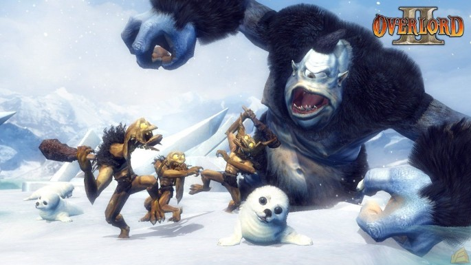 overlord-2-screenshot-minons-giant-snow-monsters
