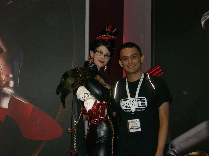Me and Bayonetta :)