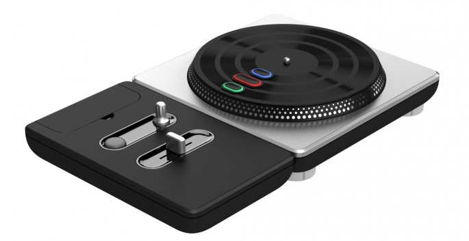 DJ Hero Turntable Controller - FINAL