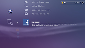FB on PS3 via XMB!