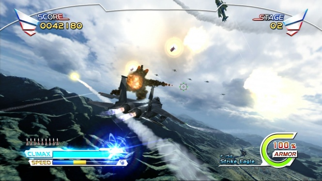 After Burner Climax Screens Touch Down
