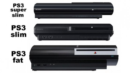 Super-Slim PS3 Size Compared in Pictures to Previous ...