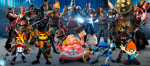 Playstation All Stars Featured cast
