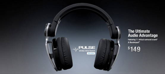 Pulse elite edition wireless stereo headset playstation 3 review.