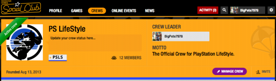 how to delete your rockstar social club crew