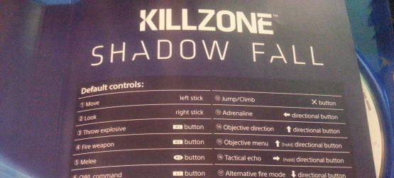 PS4 Game Manuals are Digital, Killzone: Shadow Fall to Have an