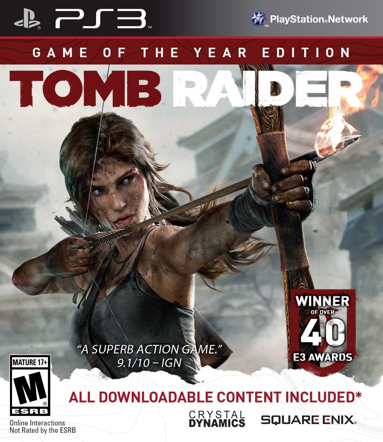 Tomb Raider Definitive Edition For Xbox One And Ps4 4k Hd: Tomb Raider Game Of The Year Edition Revealed For PS3