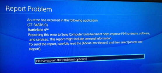 PS4 Error Code CE-34878-0 Corrupting Save Files, Sony is