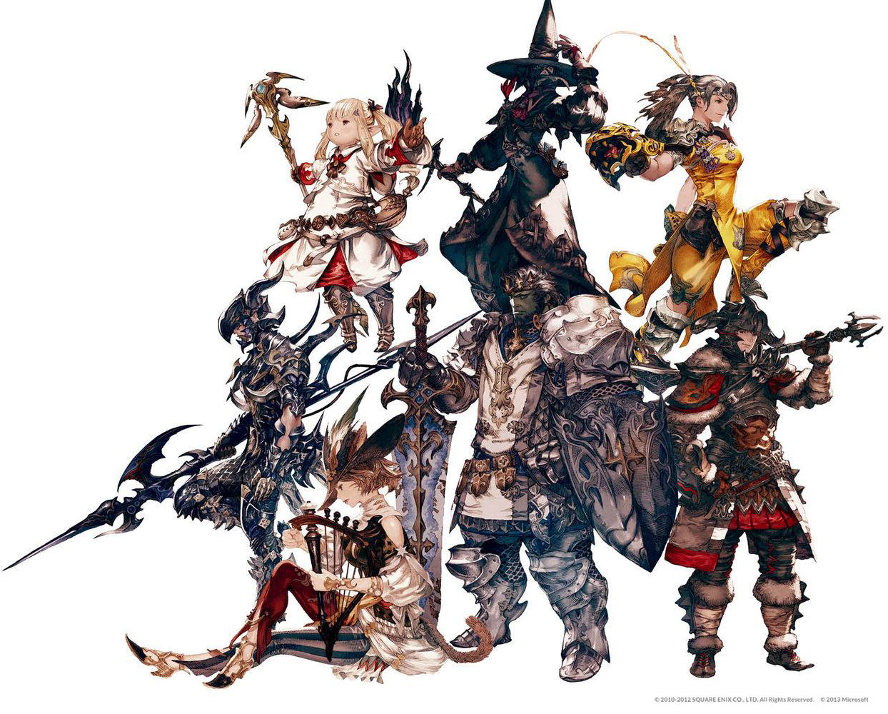 Final Fantasy XIV Fan and Concept Art - PlayStation LifeStyle