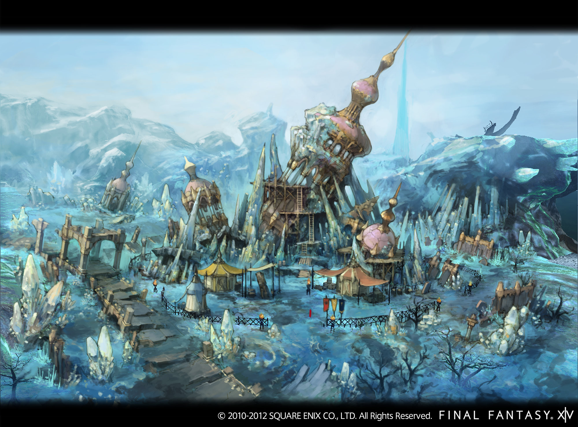 final fantasy xiv fan and concept art playstation lifestyle