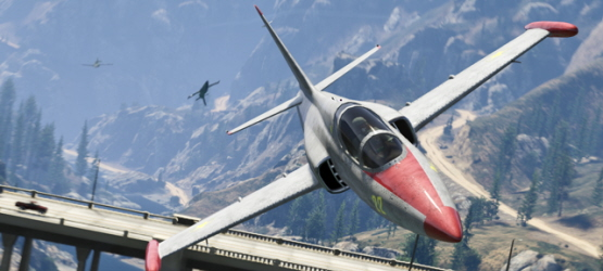 New GTA Online Flight School Update Adds Jobs, New Playlist Offers Double RP