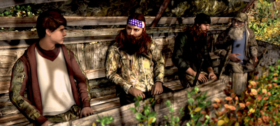 Duck dynasty video game hunting the ps4 ps3 in october for Ps4 hunting and fishing games