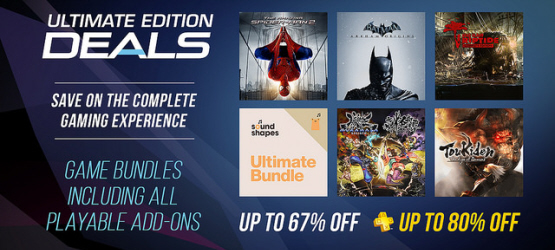 Ultimate Edition PlayStation Store Sale Starts Today