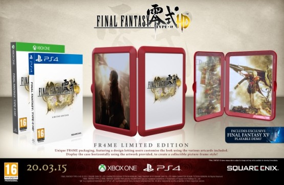 FR4ME Final Fantasy Type-0 HD