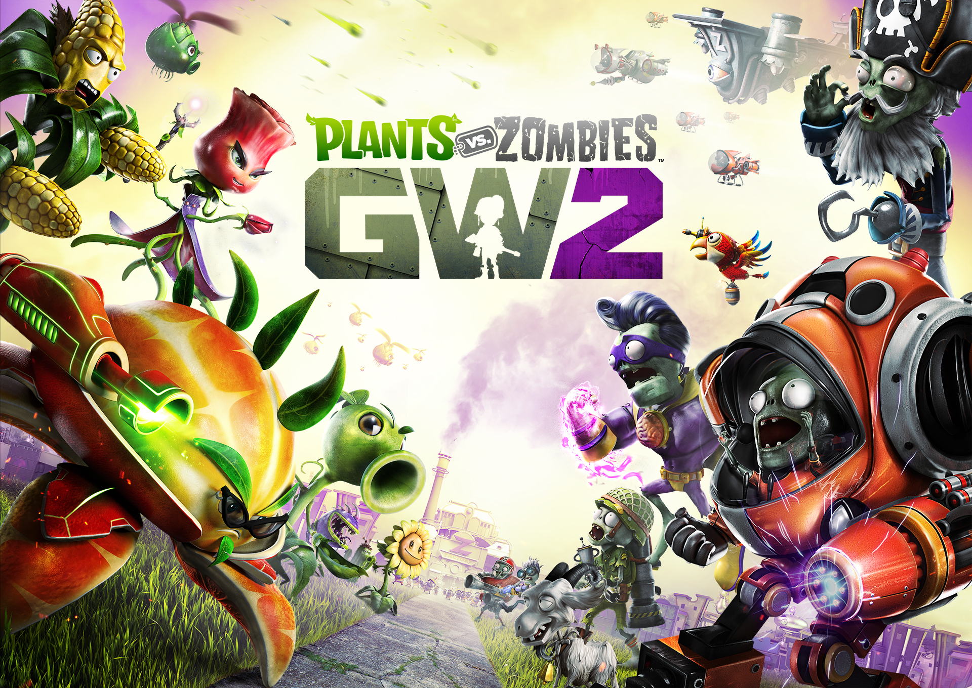 E3 2015 Plants Vs Zombies Garden Warfare 2 Preview Soil Sport