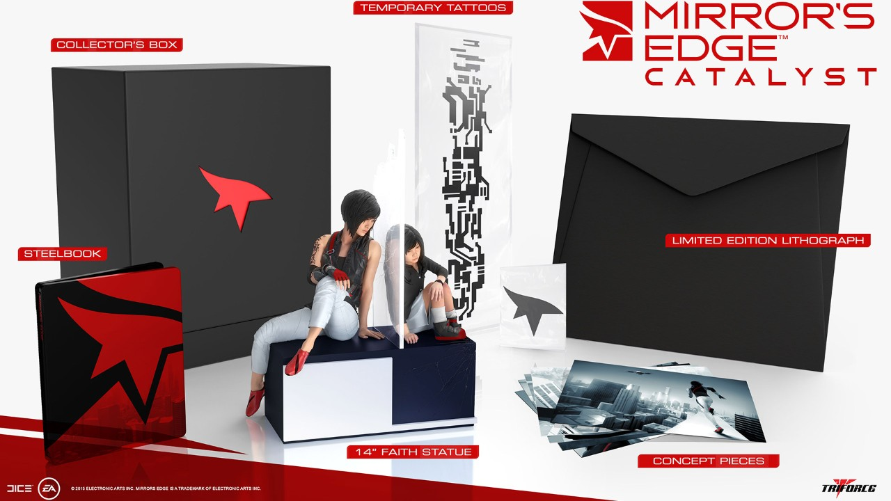 Mirrors Edge Catalyst Collectors Edition Is 200 Includes