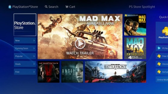 PS Store New Design