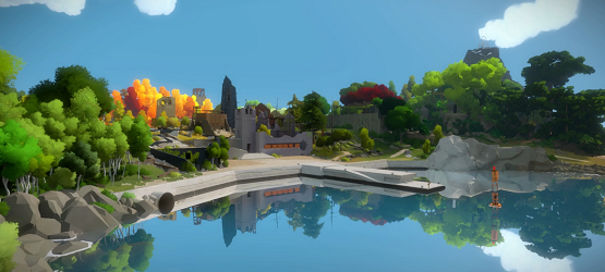The Witness review header
