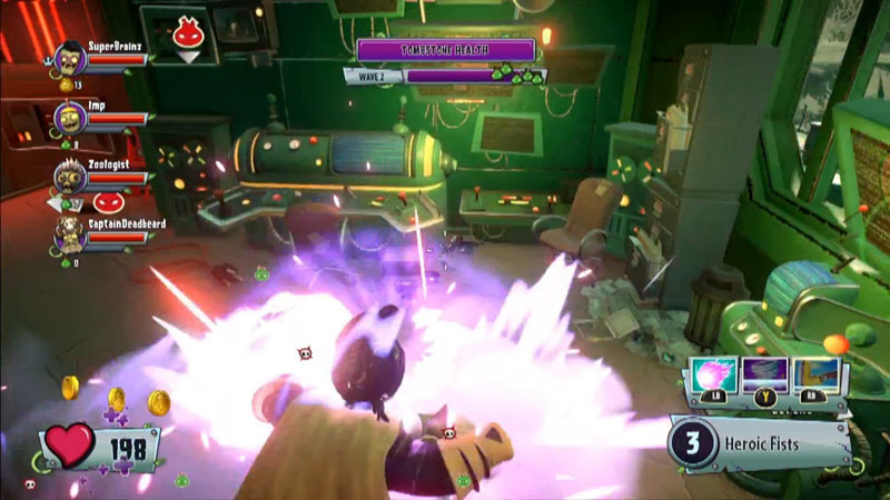 Plants vs zombies garden warfare 2 review rooted out ps4 playstation lifestyle for Plants vs zombies garden warfare 2 ps4