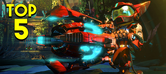 top 5 ratchet and clank weapons. Black Bedroom Furniture Sets. Home Design Ideas