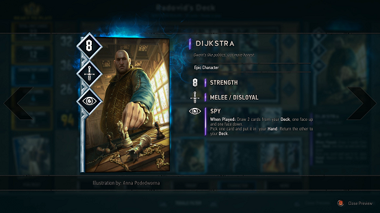 Gwent The Witcher Card Game Preview 3