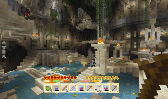 Minecraft Update 1.29 Today on PS4, PS3 & PS Vita Fixes Battle Minigame Joining Issue