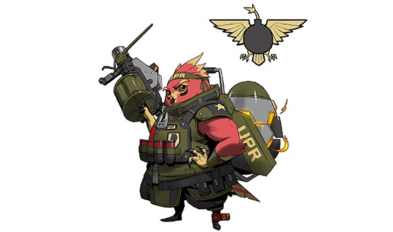 28th Battleborn Ernest the Bombirdier