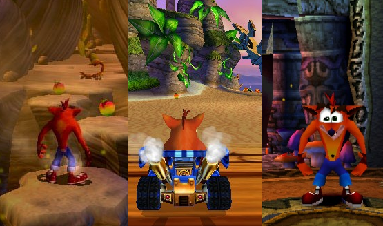 Ranking Crash Bandicoot Games