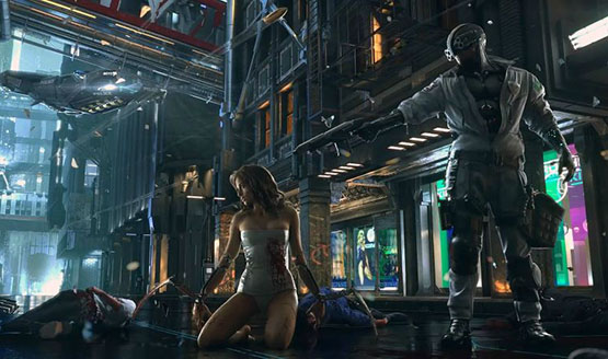 'Cyberpunk 2077' Could Feature A Living Open-World City, Seamless Multiplayer