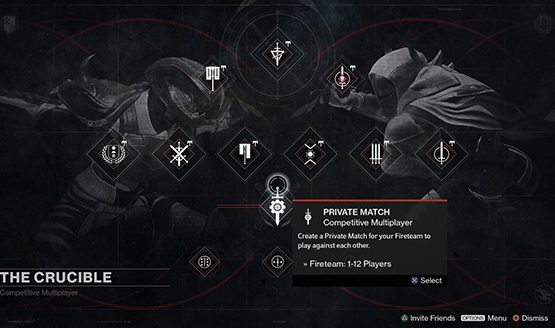 Destiny private matches