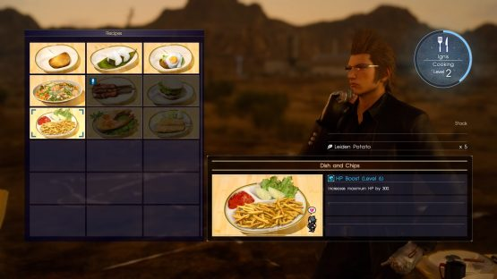 Final Fantasy XV Review East Meets West PS - 15 fantasy landscapes entirely made from food