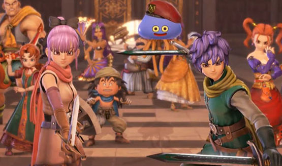 Dragon Quest Heroes II: The Twin Kings and The Prophecy's End Gameplay Introduces the Heroes