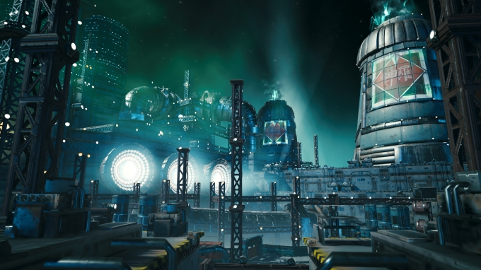 Final Fantasy 7 Remake S Mako Reactor Is In Free Pc Game