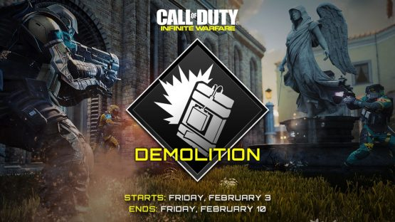 Call of Duty: Infinite Warfare Features Double Keys This Weekend, Demolition Featured