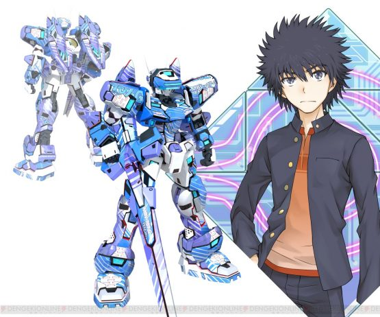 A Certain Magical Virtual-On Characters Revealed