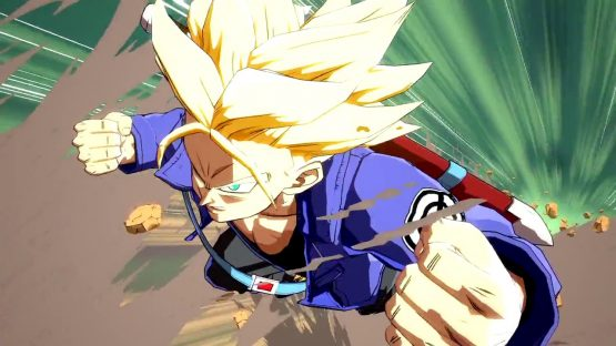 dragonball fighterz trunks