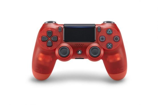 dualshock 4 colors red crystal