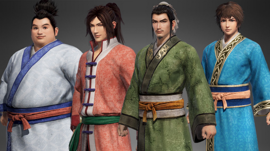Dynasty Warriors 9 informal clothes