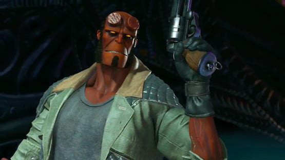 Injustice 2: Hellboy Delivers Blood & Rage in New Gameplay Trailer
