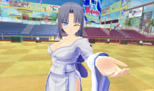 Senran Kagura Peach Beach Splash - Yumi in VR