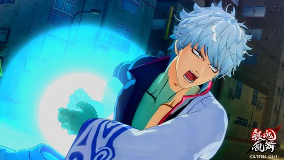 Gintama Rumble special moves Gintoki Kamehameha