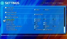 star ocean 4 ps4 settings