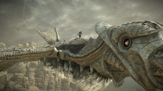 Shadow of the Colossus PS3 vs
