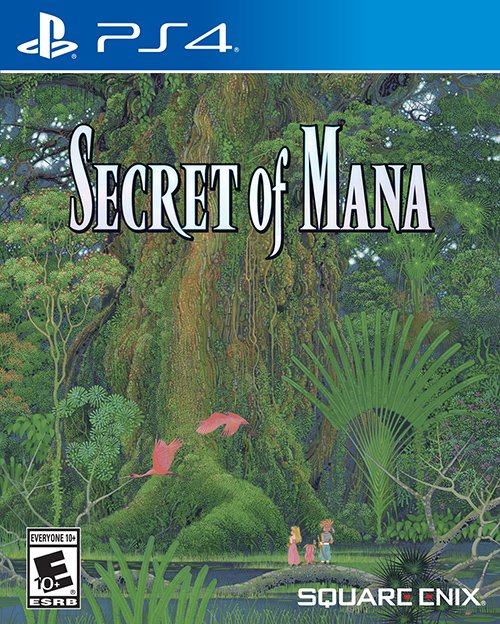 Secret of Mana Physical Release