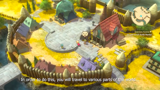 Learn How Ni no Kuni II's Kingdom Builder Mode Came to Be