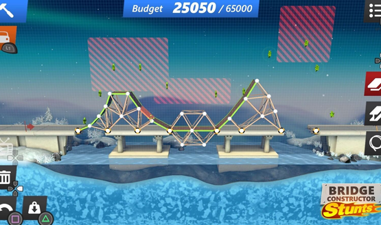 Bridge Constructor Stunts review 1