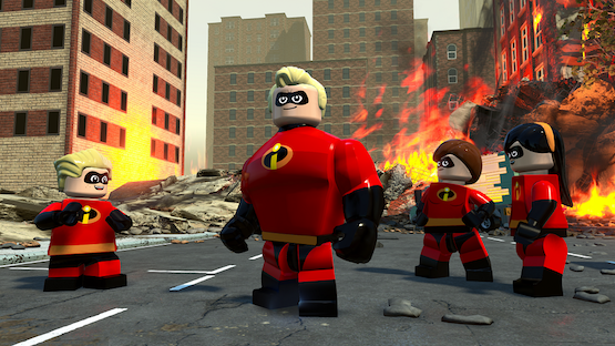 'The Incredibles' Will Get The LEGO Video Game Treatment