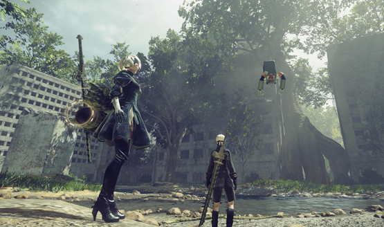 nier automata easter eggs