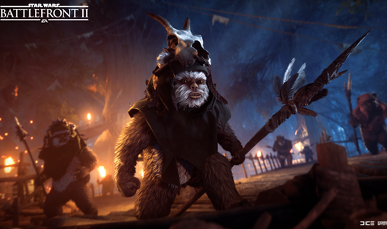 Star wars battlefront 2 update ewoks