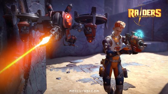 raiders of the broken planet new character